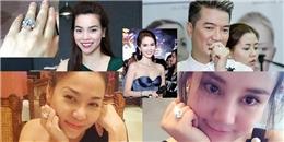 Khoe nhẫn kim cương 2 tỉ nhưng Ngọc Trinh chưa là gì so với loạt sao Việt