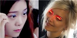 Quên nối mi dày cộp đi, bây giờ sành điệu là phải gắn lông mi đèn LED lên mắt