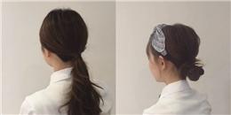 3 kiểu tóc 'dễ như ăn kẹo' đúng chuẩn gái Hàn cho các nàng vụng về