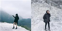 """Gần ngay Hà Nội có """"ngọn đồi Bắc Âu"""", nơi mà giấc mơ tuyết trắng là có thật!"""