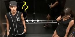 Phản ứng lầy lội của các thành viên BTS khi đi thang máy cùng người đẹp