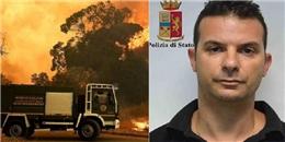 Để kiếm thêm tiền, lính cứu hỏa... tự tạo luôn các đám cháy