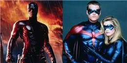 Top 10 siêu anh hùng truyện tranh nổi tiếng thất bại sấp mặt khi lên phim