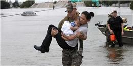 Loạt ảnh khiến cả thế giới lặng người về siêu bão Harvey tàn phá nước Mỹ nhất 12 năm qua