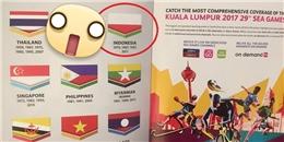 Chuyện thật như đùa: Malaysia in sai hình nhiều quốc kỳ tại SEA Games 29