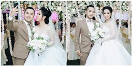 Đám cưới ngập tràn sắc trắng lãng mạn của anh trai Bảo Thy và vợ 9x