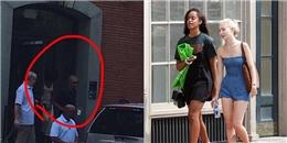 Vợ chồng Obama nước mắt sụt sùi tiễn con gái vào Đại học Harvard