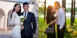 'Tan chảy' với ảnh cưới ngọt ngào của Thuỷ Tiên - Công Vinh ở Nhật