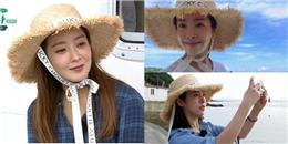 Kim Hee Sun, Kang Ho Dong thay phiên nhau lăng xê mũ lá cọ raffia