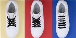 Hô biến đôi giày trở nên thú vị hơn bằng những cách thắt dây đẹp nịnh mắt