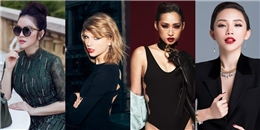 Những pha 'đụng hàng' của mỹ nhân Việt với Taylor Swift
