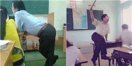 1001 tư thế giảng bài 'bá đạo' của thầy cô mà học sinh sẽ chẳng bao giờ quên