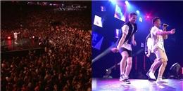 Clip: Trọng Hiếu trình diễn trên sân khấu đại nhạc hội hoành tráng nhất châu Âu