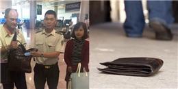 An ninh sân bay Tân Sơn Nhất trả lại hơn 17.000 USD cho khách bỏ quên