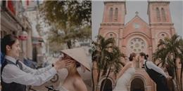 Bộ ảnh cưới chụp tại Việt Nam của cặp đôi Đài Loan hot nhất MXH ngày hôm nay!