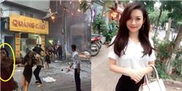 """Hot girl Hà thành dùng """"áo ngực"""" thoát khỏi đám cháy sau 1 năm giờ ra sao?"""