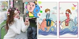 Tạo ảnh nền đôi siêu xinh: Trào lưu mới cho các cặp đang yêu