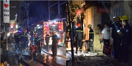 TP.HCM: Cháy nhà ở phố Bùi Viện, du khách Tây hốt hoảng tháo chạy