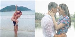 Hồ Ngọc Hà diện bikini, được Kim Lý cõng trên lưng cực tình cảm