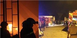 TP.HCM: Cháy lớn, hàng trăm chiến sĩ cứu hoả trắng đêm