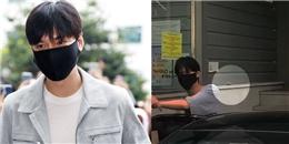 """Bắt tay chào fan, Lee Min Ho """"dính chưởng"""" một hòn đá từ một fan quá khích"""