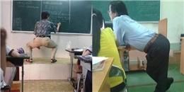 Thầy giáo nào cũng bá đạo, vui tính thế này thì ai mà muốn 'cúp' học chứ