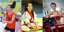 5 nữ vận động viên Việt khiến cộng đồng mạng phát sốt vì vừa xinh, vừa giỏi hết phần người khác