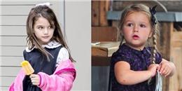 Suri và Harper, tuổi thơ trái ngược của hai nhóc tỳ nổi tiếng thế giới