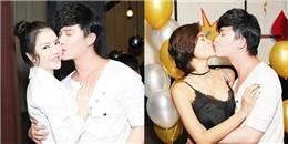 Nathan Lee hôn má Lý Nhã Kỳ, 'khoá môi' Phương Mai trong sinh nhật