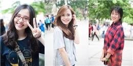 Hà Nội: Tân sinh viên Hà thành quá xinh tươi trong ngày đầu nhập học