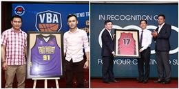 Họp báo ra mắt Giải Bóng rổ chuyên nghiệp Việt Nam - VBA 2017