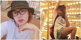"""Phương Ly bị fans gọi là """"đẹp mà điên' khi du lịch tại Nha Trang"""