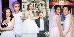 Khi sao Việt 'hâm nóng' tên tuổi bằng cách tung ảnh cưới