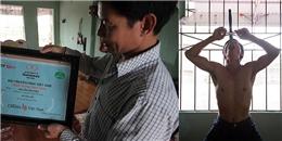 """Gặp 'Dị nhân"""" nuốt trôi một lúc 15 thanh kiếm, đạt kỷ lục Guinness Việt Nam"""