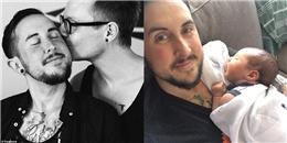 Sau 10 năm cố gắng mang thai, cuối cùng người đàn ông này đã sinh con đầu lòng
