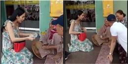 Thủy Tiên âm thầm giúp đỡ cụ bà hơn 90 tuổi bán vé số tại Kiên Giang