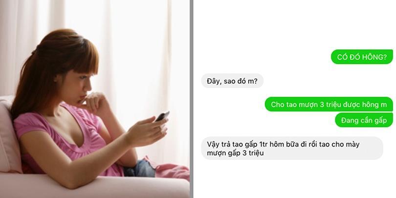 """9 tin nhắn từ chối cho mượn tiền siêu """"trất's"""", đọc ngay để tránh vay mượn nha!"""