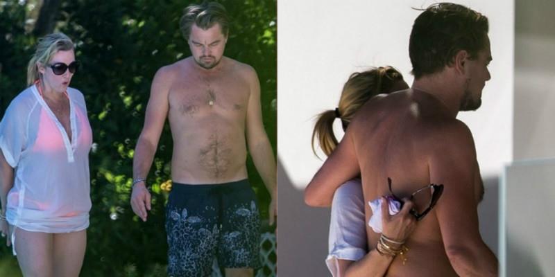 """Lộ ảnh hẹn hò trên biển của """"đôi bạn già"""" Leonardo DiCaprio và Kate Winslet"""