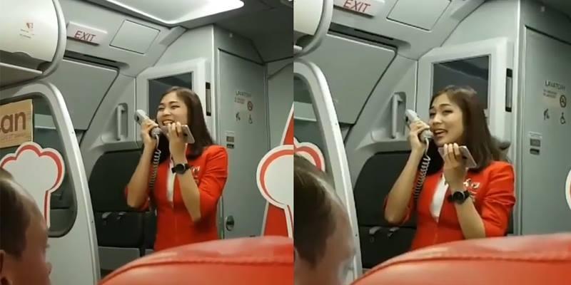 Máy bay bị delay, nữ tiếp viên xinh ngất ngây ra tay cứu cánh