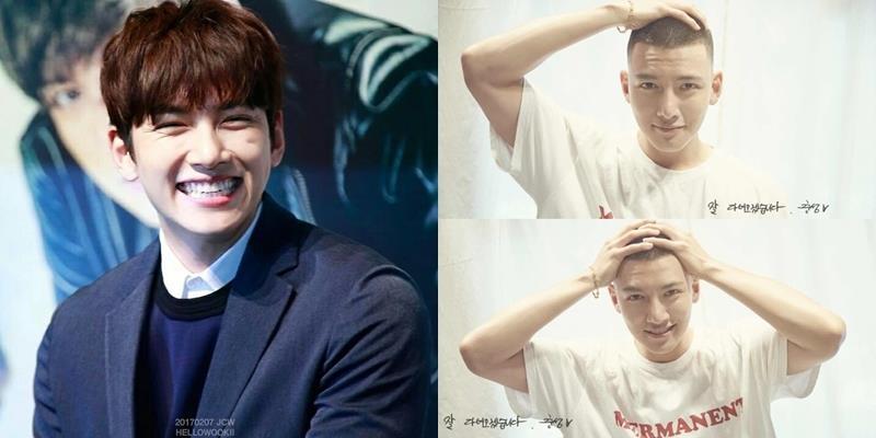 Cạo đầu vẫn đẹp trai, Ji Chang Wook gửi lời nhắn cuối cùng trước giờ nhập ngũ