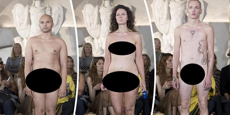 """Nhà thiết kế gây sốc vì bộ sưu tập thời trang """"ca ngợi vẻ đẹp cơ thể con người"""""""