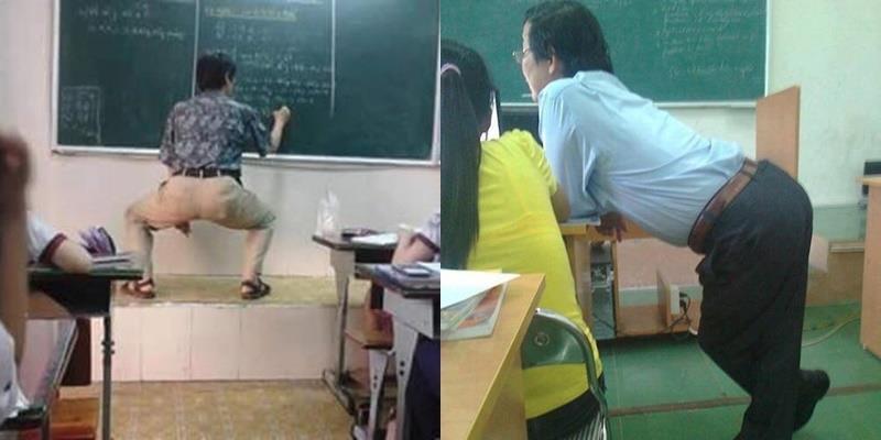 """Thầy giáo nào cũng bá đạo, vui tính thế này thì ai mà muốn """"cúp"""" học chứ"""