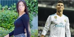 Mặc bầu bì, bạn gái vẫn sát cánh cùng Ronaldo trong ngày trở lại