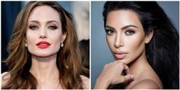 """Khi Angelina Jolie và Kim Kardashian """"đụng hàng"""" váy áo, ai sẽ là người chiến thắng?"""