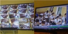 Nhìn dàn camera siêu khủng của nhà trường đầu tư, đố học sinh quay cóp được đấy!