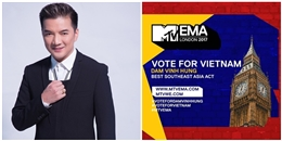 Đàm Vĩnh Hưng trở thành đại diện của Việt Nam tham dự MTV EMA 2017