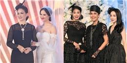 Dàn sao Việt dự đám cưới của con gái 'Người đẹp không tuổi' Thủy Hương