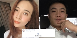 HOT: Không còn che giấu, Cường Đôla - Đàm Thu Trang chính thức đính hôn với nhau?