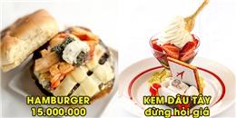 7 món ăn sang chảnh nhất thế giới dù người có tiền cũng phải xếp hàng chờ đợi