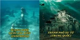 Những quần thể kiến trúc chìm sâu dưới đáy đại dương kích thích con người đi tìm lời giải đáp